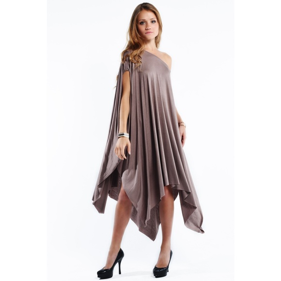 Bare Anthology Dresses Lowest Price Asymmetrical Poncho Dress