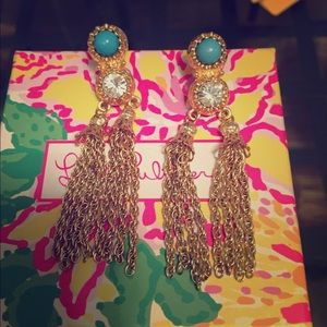 Lilly Pulitzer dangly earrings