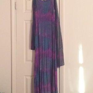 Betsy & Adam Dresses & Skirts - Long multi sparkle gown