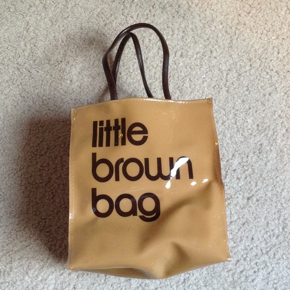 8380a7a3ca Bloomingdales Handbags - Little Brown Reusable Shopping