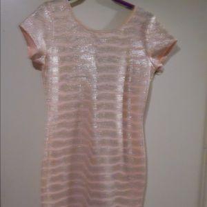 Dresses & Skirts - Sparkling pink n gold dress