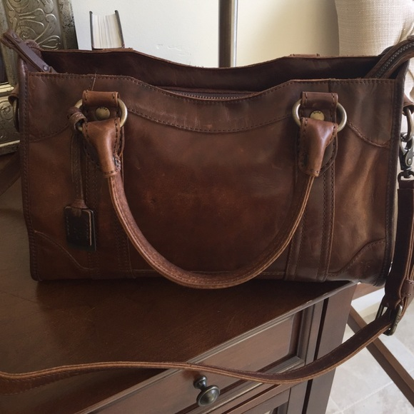 2cb678b9b0 NWT Frye Melissa Satchel In Dark Brown