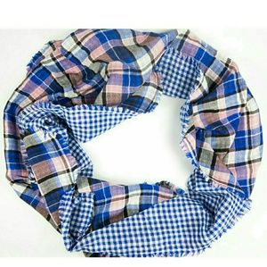 American Colors Accessories - Sale! BN Double Face Plaid Scarf