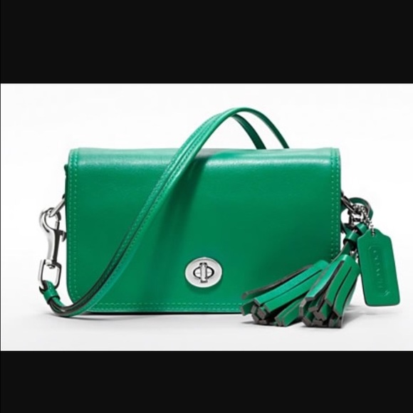 Coach Bags   Penny Crossbody Bag Kelly Green   Poshmark d3238b85bb
