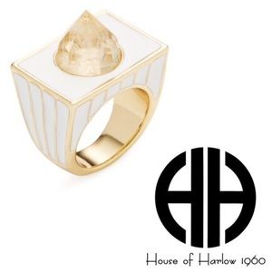 House of Harlow 1960 Jewelry - 🎉HP🎉 House of Harlow Glacier Cocktail Ring 7