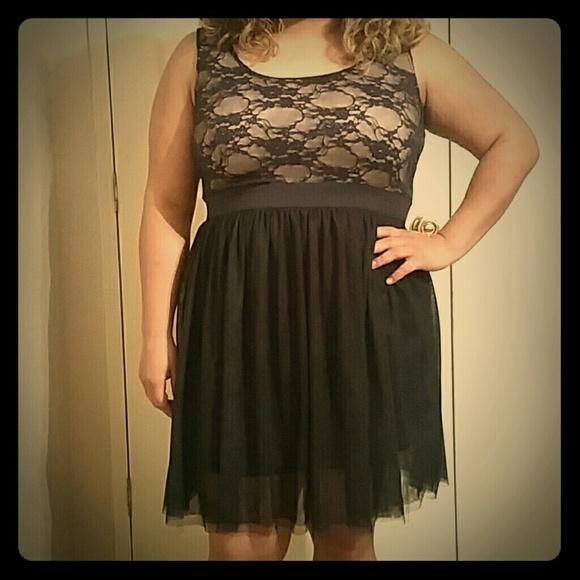 Rachel Chloe Lace And Tull Dress