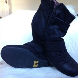 BC Wedge Booties