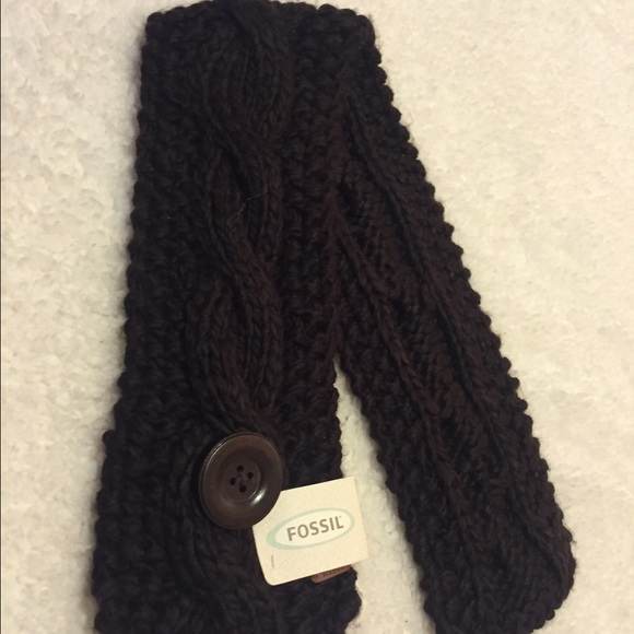 53 fossil accessories cozy brown fossil scarf from