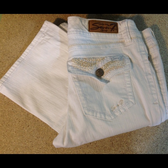 Seven7 - 💖NFS💖SEVEN JEANS - White Bootcut Jeans from Brittany ...