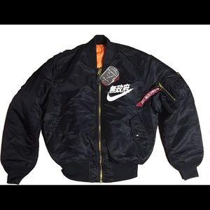 Japanese Nike Bomber Jacket | RYLTY | Pinterest | Jackets