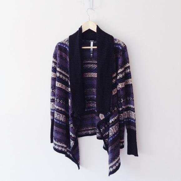 82% off Kensie Sweaters - *KENSIE* Fair Isle Open Cardigan from ...