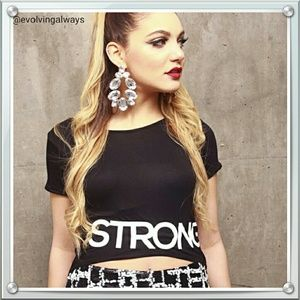 Designer Hi-Lo T-shirt Strong Woman
