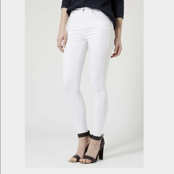 373c9261473 Topshop Jeans | Brand New White Us Size 0 Euro Size 24 | Poshmark
