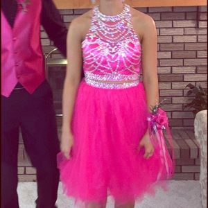 Dresses & Skirts - Two piece short homecoming/prom/pageant dress