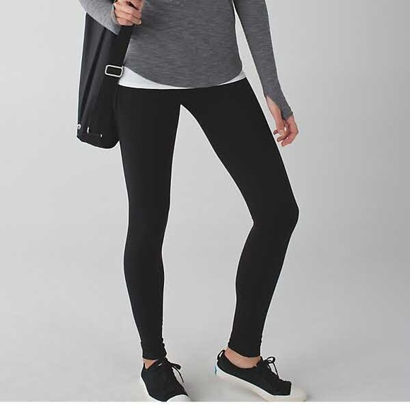 lululemon athletica pants lululemon wunder under black