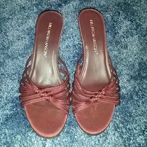 Hillard & Hanson Shoes - Open Toe Heels