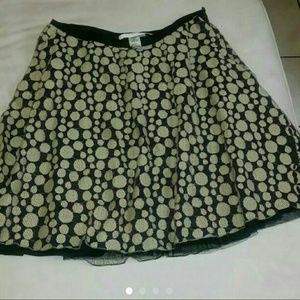 Studio M Dresses & Skirts - MED Tan and Black thin crochet