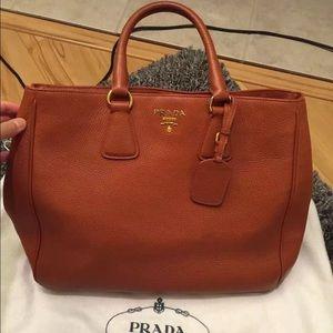 76% off Prada Handbags - Classic Prada Suede Bag from Claire\u0026#39;s ...