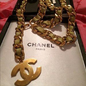 Vintage rare Chanel belt