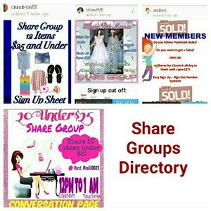 SHARE GROUPS FOR YOU!