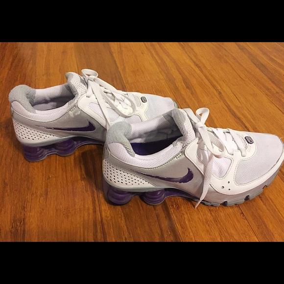 buy cheap d087c 787f6 Women s Nike Shox Turbo 10 (Purple Silver White). M 5697bac7b4188e842a00df09