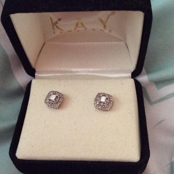 Kay Jewelers Jewelry Kays Diamond Earrings Poshmark