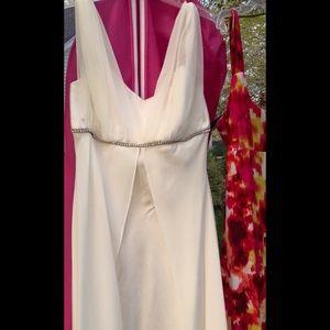 Dresses & Skirts - Elegant cream A line dress
