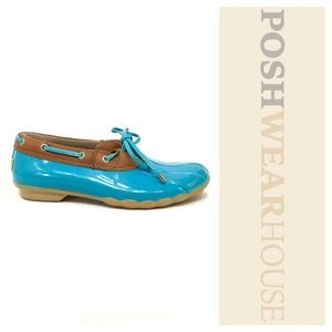 Sperry Top-Sider Shoes - Baby Blue Comfort Slip On Duck Shoes