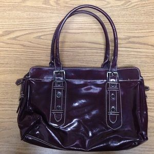 Sondra roberts Handbags - Wine colored handbag