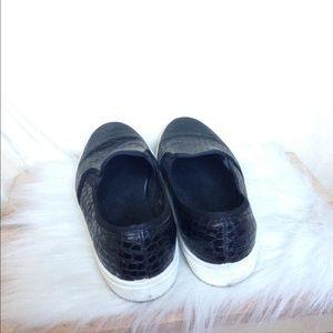Topshop Shoes - Topshop Croc Loafers