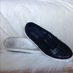 Topshop Shoes - Topshop Croc Loafers
