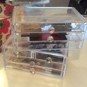 Other - Clear makeup storage