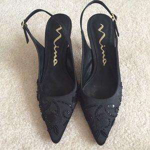 Nina Shoes - 🐝Nina beaded heels