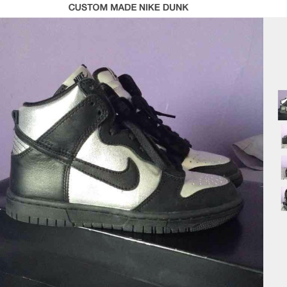 custom nike dunks high