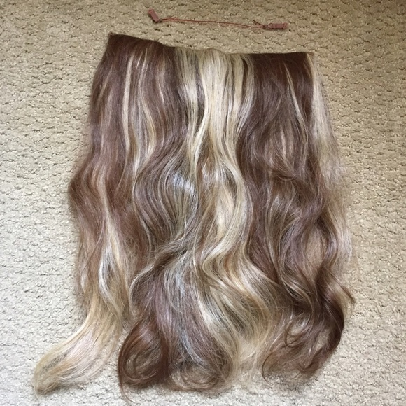 Accessories Real Hair Final Price Invisible Hair Extensions Poshmark