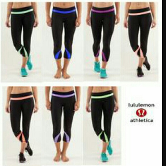 6f4053e637 lululemon athletica Pants | Lululemon Lilac Run Inspire Ii Crops ...