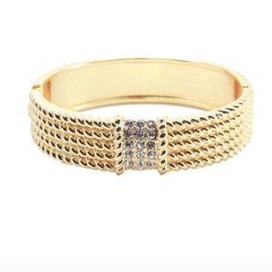 SALE Texture Gold Bracelet