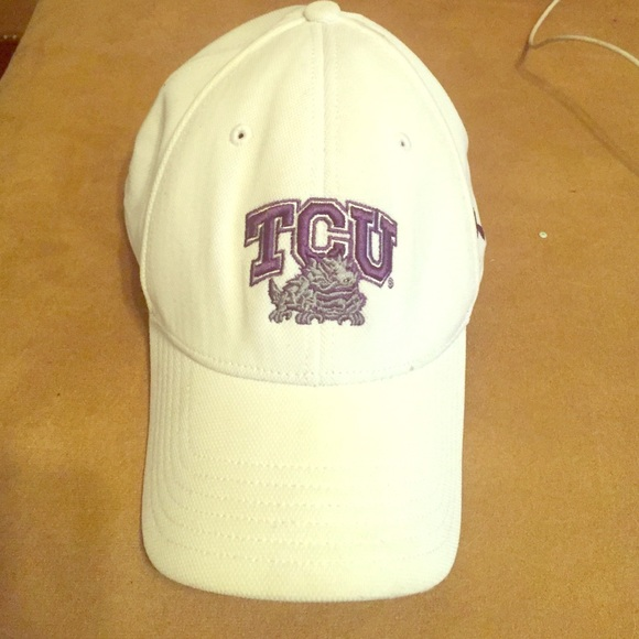 authentic tcu baseball cap hat fitted rally caps under armour accessories