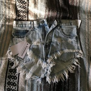 Light Blue Wash Urban Outfitters High Rise