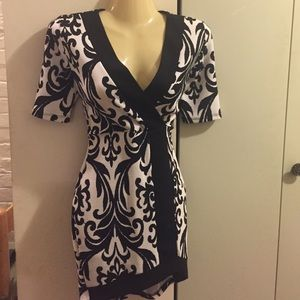 Dresses & Skirts - Sexy black and white dress