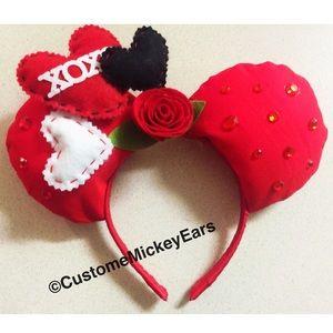  Valentines Mickey ears