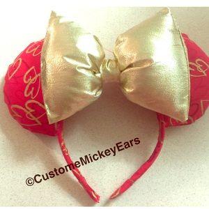 Valentine mickey ears