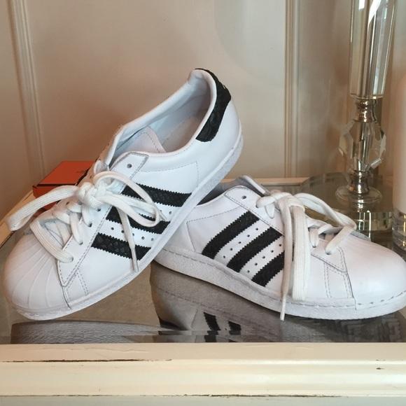 Adidas Shoes - Adidas Superstar Originals CUSTOM w  Snakeskin 6532cde03