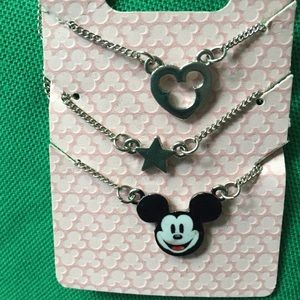 Disney layered chain necklace!!