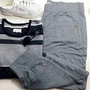 Sejour Pants - Gray Zip Pocket Joggers
