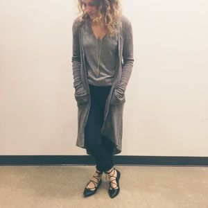 Free People Sweaters - Free People Maxi Cardigan / Duster Cardigan