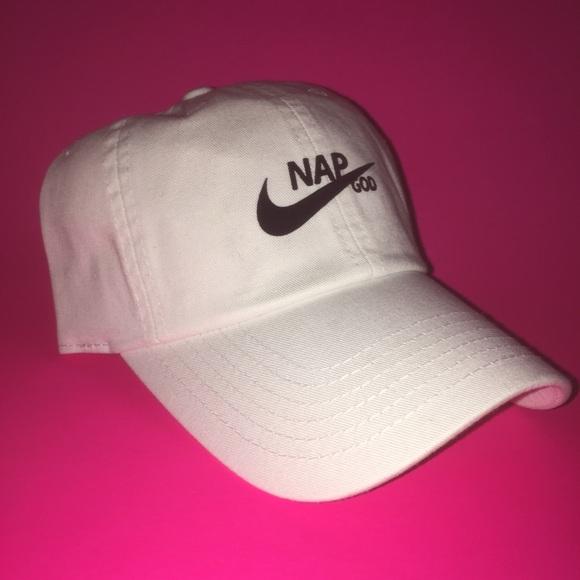 8cd2ada0c23 NAP GOD hat adjustable with tuck pocket NEW