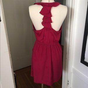 Dresses & Skirts - Magenta racer back dress