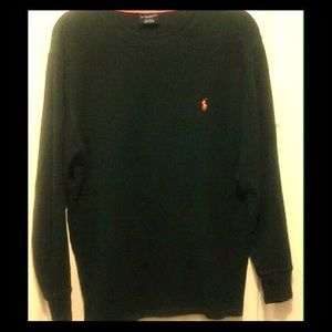 Ralph Lauren Polo (2 pcs.) Thermal/Collar Shirts
