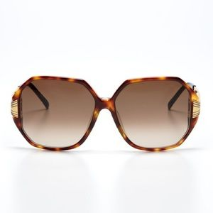 Linda Farrow Accessories - Linda Farrow Luxe Tortoise Metal Frame